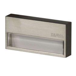 ZAMEL LEDES  Lépcső lámpa SONA 14V Inox keret nélküli Hideg fehér