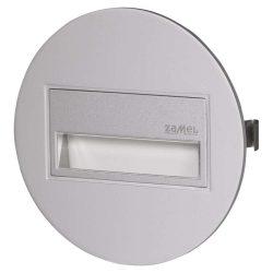 ZAMEL LEDES  Lépcső lámpa Beépíthető SONA 14V Alumínium keret Hideg fehér