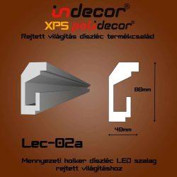 Lec-02A Mennyezeti rejtett világítás díszléc