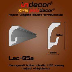 Lec-05A Mennyezeti rejtett világítás díszléc