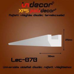 Lec-07B Univerzális oldalfali rejtett világítás díszléc