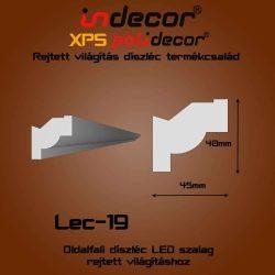Lec-19 Oldalfali rejtett világítás díszléc