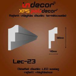 Lec-23 Oldalfali rejtett világítás díszléc