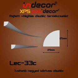 Lec-33C Ívelhető 25x25mm