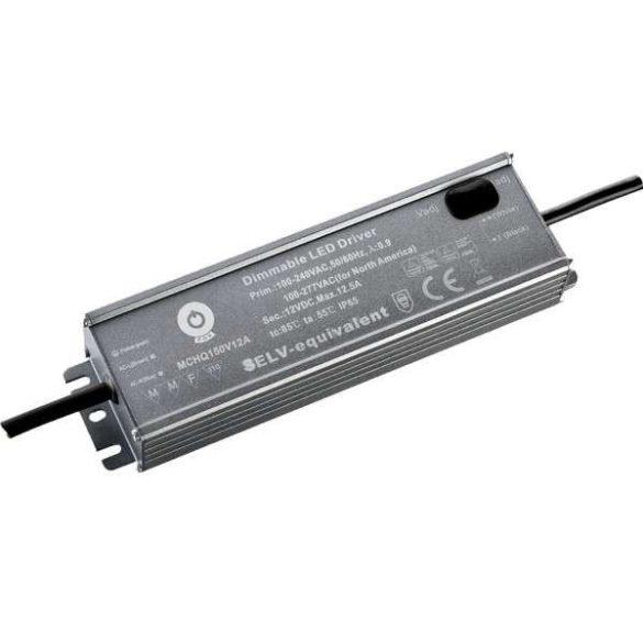 POS Led tápegység MCHQA-150-12 150W 12V 12.5A IP65 dimmelhető