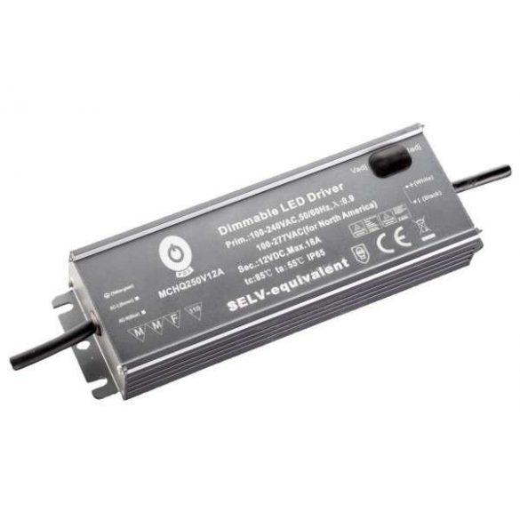 POS Led tápegység MCHQA-250-24 250W 24V 10.4A IP65 dimmelhető