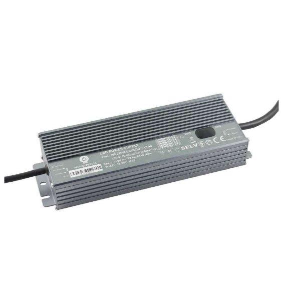 POS Led tápegység MCHQA-320-12 320W 12V 22A IP65 dimmelhető