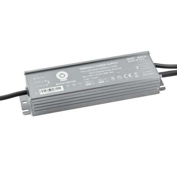POS Led tápegység MCHQB-150-12 150W 12V 12.5A IP67 dimmelhető