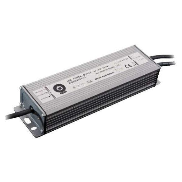 POS Led tápegység MCHQB-185-24 185W 24V 7.7A IP67 dimmelhető