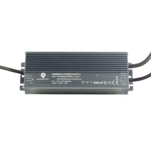 POS Led tápegység MCHQB-320-12 264W 12V 22A IP67 dimmelhető