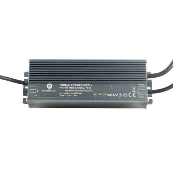 POS Led tápegység MCHQB-320-15 285W 15V 19A IP67 dimmelhető