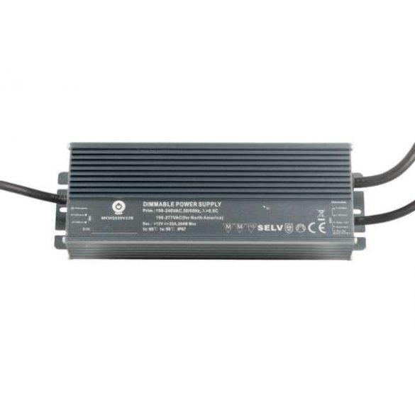 POS Led tápegység MCHQB-320-54 324W 54V 6A IP67 dimmelhető