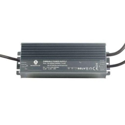 POS Led tápegység MCHQB-600-12 480W 12V 40A IP67 dimmelhető