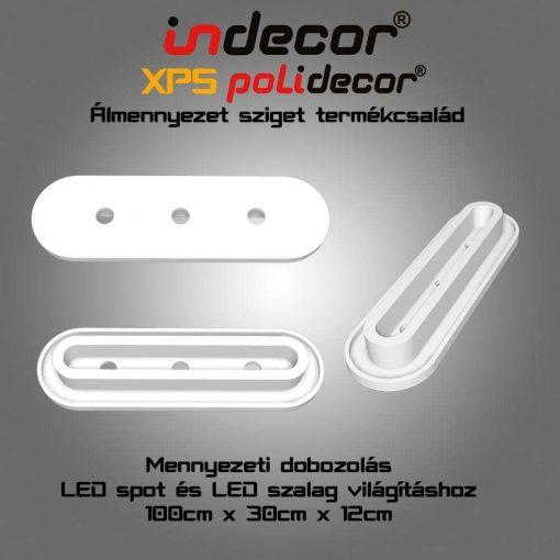 Indecor® MD-1-30-O  XPS Mennyezeti dobozolás