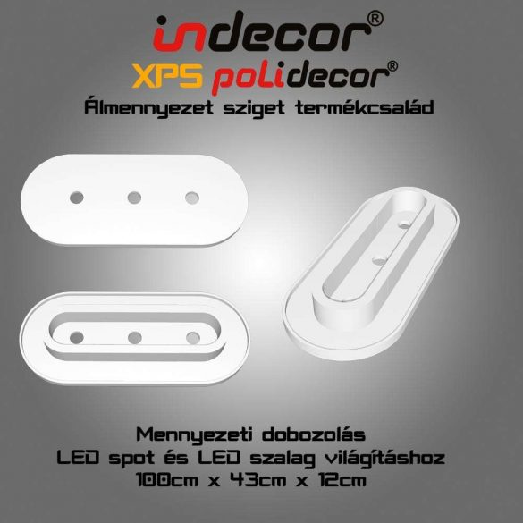 Indecor® MD-1-43-O XPS Mennyezeti dobozolás