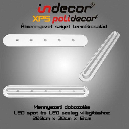 Indecor® MD-2-30-O  XPS Mennyezeti dobozolás