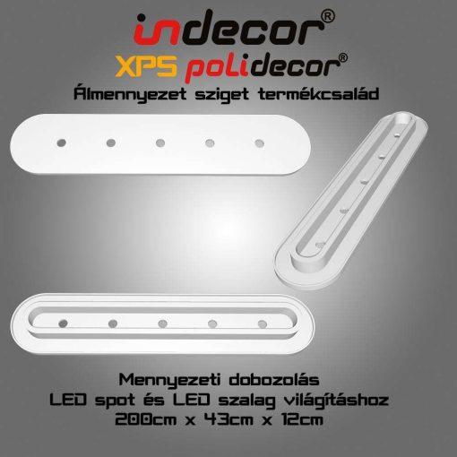 Indecor® MD-2-43-O XPS Mennyezeti dobozolás