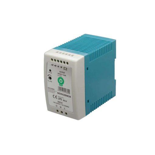 POS Led tápegység MDIN-100-24 96W 24V 4A