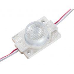 Led Modul 1db 1X2835 led 1.5W sorolható vízálló Hideg fehér