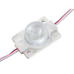 Led Modul 1db 1X2835 led 1.4W 130 lm 18x50° sorolható vízálló Hideg fehér