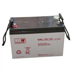 MW Power AGM akkumulátor 100Ah 12V