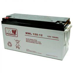 MW Power AGM akkumulátor 150Ah 12V