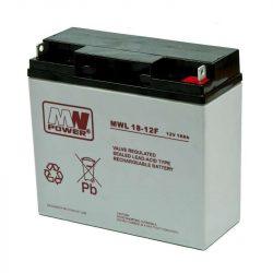 MW Power AGM akkumulátor 18Ah 12V