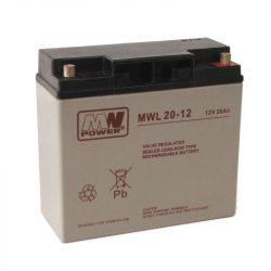 MW Power AGM akkumulátor 20Ah 12V