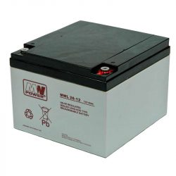 MW Power AGM akkumulátor 26Ah 12V