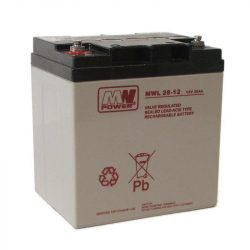 MW Power AGM akkumulátor 28Ah 12V