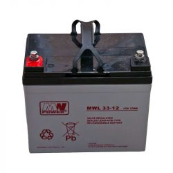 MW Power AGM akkumulátor 33Ah 12V