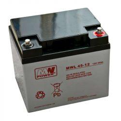 MW Power AGM akkumulátor 45Ah 12V