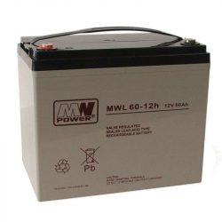MW Power AGM akkumulátor 60Ah 12V