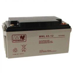 MW Power AGM akkumulátor 65Ah 12V