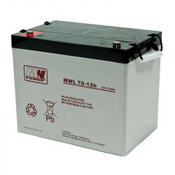 MW Power AGM akkumulátor 70Ah 12V