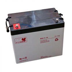MW Power AGM akkumulátor 75Ah 12V