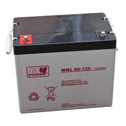 MW Power AGM akkumulátor 80Ah 12V