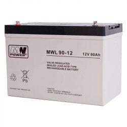 MW Power AGM akkumulátor 90Ah 12V