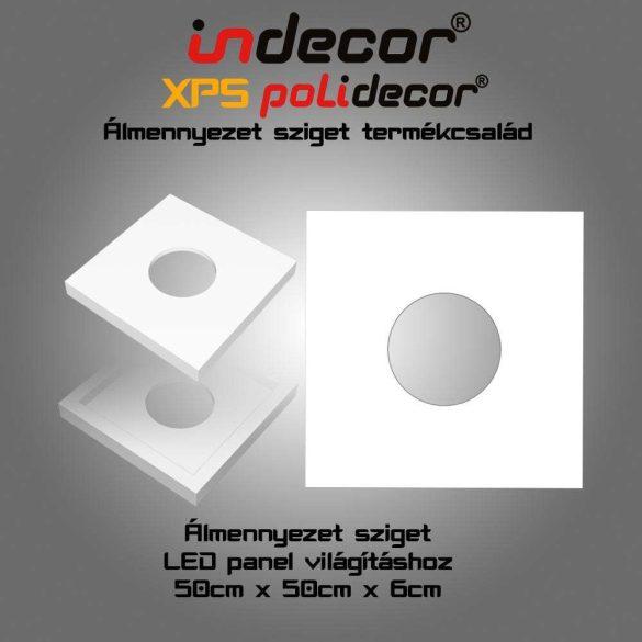 Indecor® N-50-FZ Négyzet álmennyezet sziget