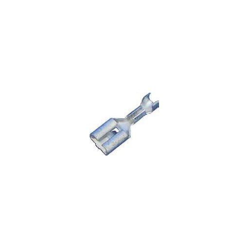 Csúszósaru-hüvely DIN46340 0.5-1mm2 6.3x0.8mm