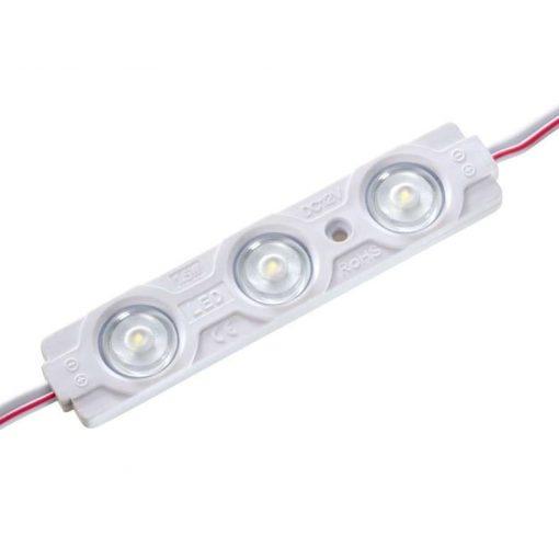 Led Modul 1db 3X2835 led 1.5W sorolható vízálló Hideg fehér