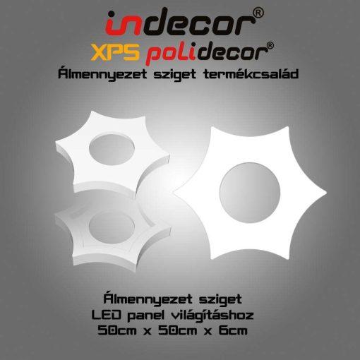 Indecor® NY-50-FZ Csillag álmennyezet sziget
