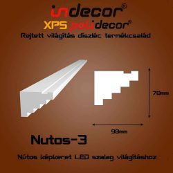 Nutos-3 Nútos képkeret - lépcsős