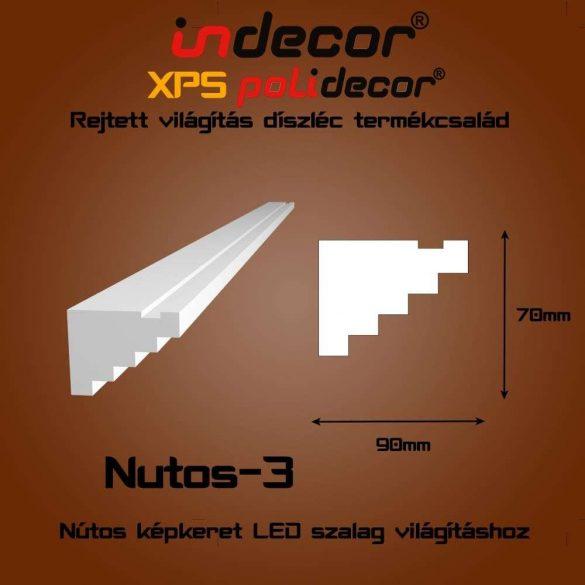 Indecor® Nutos-3 Nútos képkeret - lépcsős