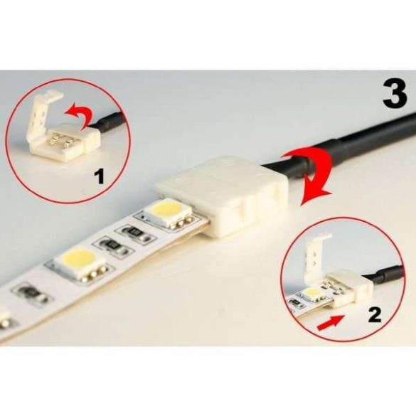 LED szalag DC csatlakozó ANYA