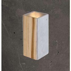 ORTO TEAK Beton Lámpa Antracit