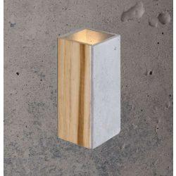 ORTO TEAK Beton Lámpa Szürke