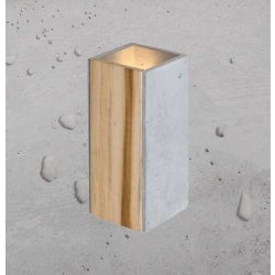 ORTO TEAK Beton Lámpa Natúr
