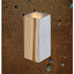 ORTO TEAK Beton Lámpa Rozsda-szürke