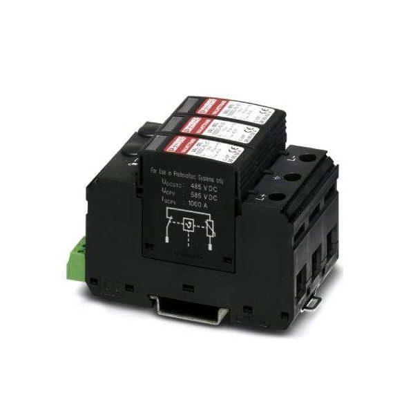 Phoenix Contact T1/T2 típusú villámáram-/túlfeszültség-levezető - VAL-MS-T1/T2 1000DC-PV/2+V